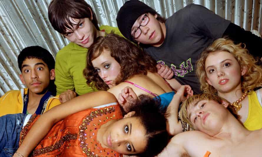 The original cast of Skins