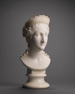 Canova's Bust of Peace.