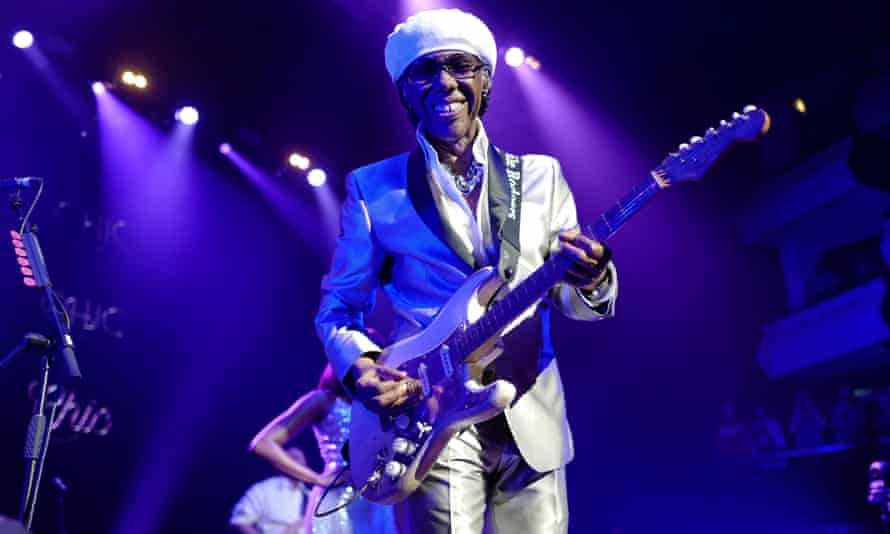 The Chic of it ... Nile Rodgers.