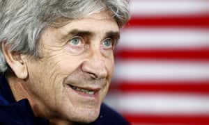 Manuel Pellegrini's position has been under threat for several weeks
