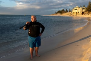 Norman Galli at Cottesloe beach