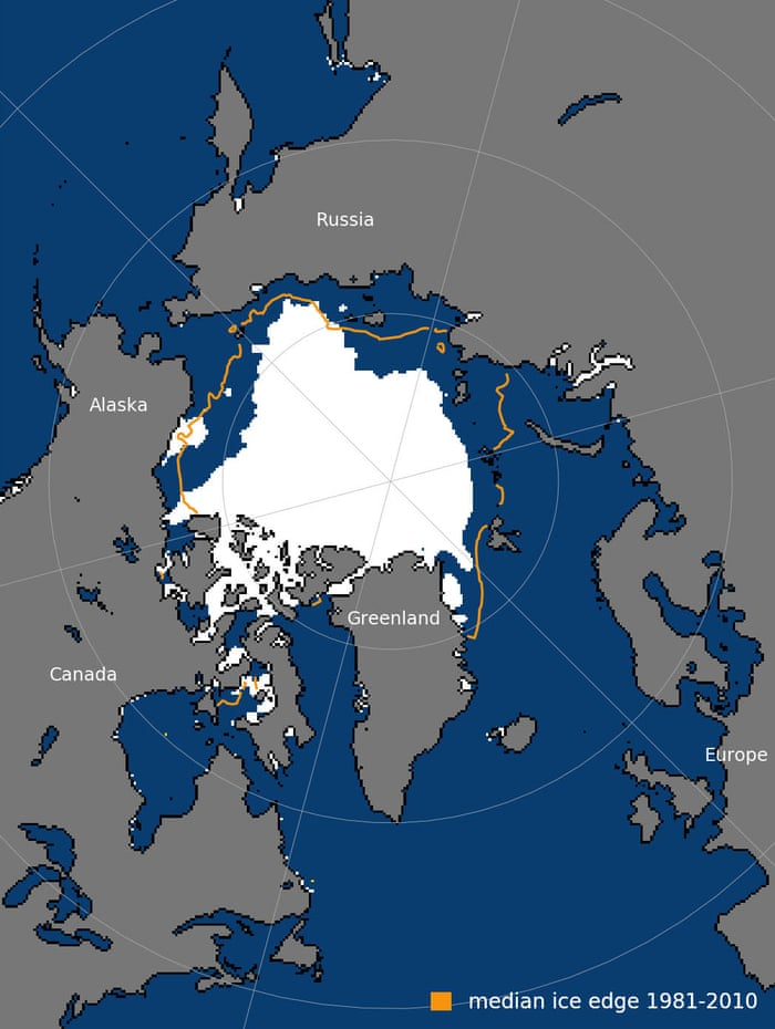 Arctic's strongest sea ice breaks up for first time on