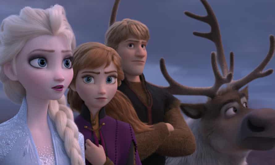 Characters in Frozen 2