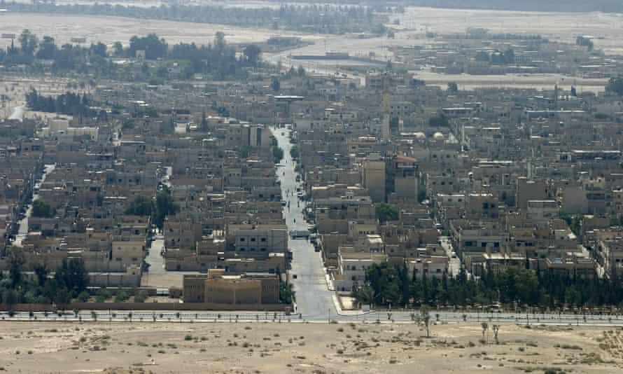 View of Palmyra