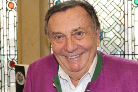 Barry Humphries at Cadogan Hall, London.