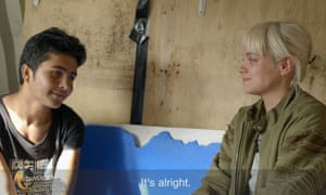 'Crocodile tears': Lily Allen was abused for crying when she met a 13-year-old boy from Afghanistan at the Calais camp known as the Jungle.