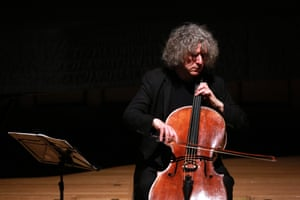 Cellist Steven Isserlis performs at Wigmore Hall, London, in February 2016.