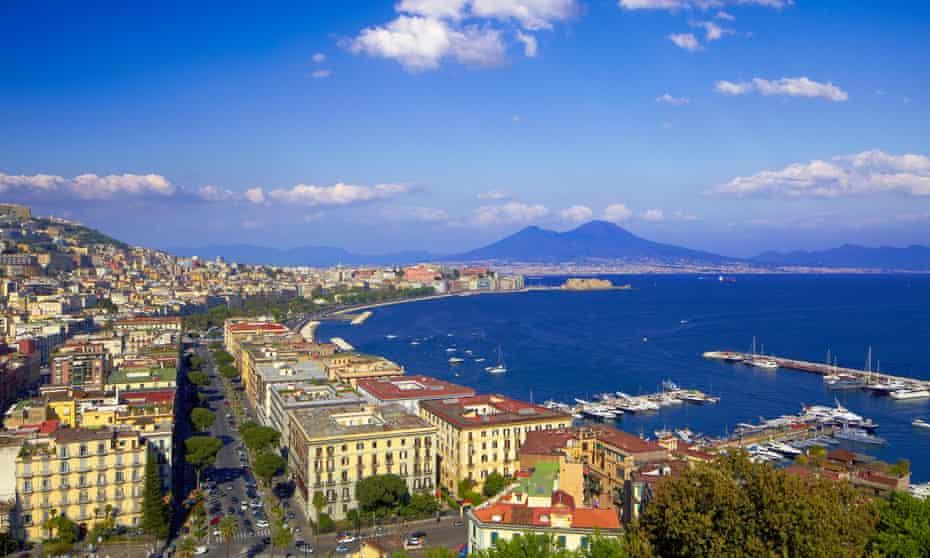 Naples, the setting for Ferrante's book series