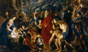 Reubens' Adoration of the Magi.