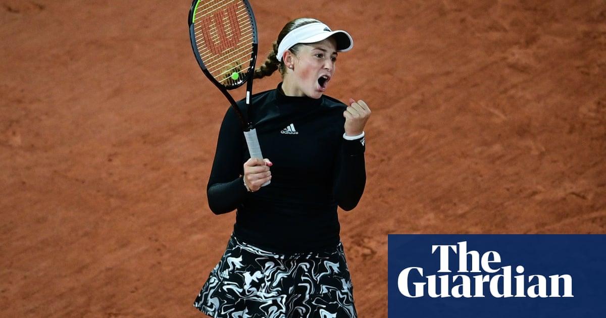 Jelena Ostapenko rediscovers form to stun Karolina Pliskova at French Open