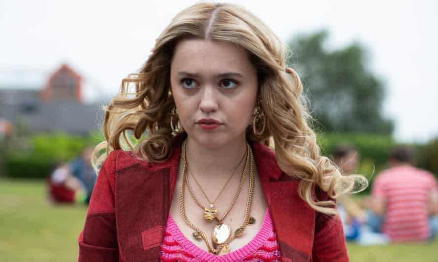 Aimee Lou Wood as Aimee Gibbs 'Sex Education' TV Show Season 2 - 2020