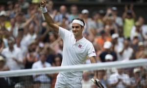 Roger Federer at Wimbledon