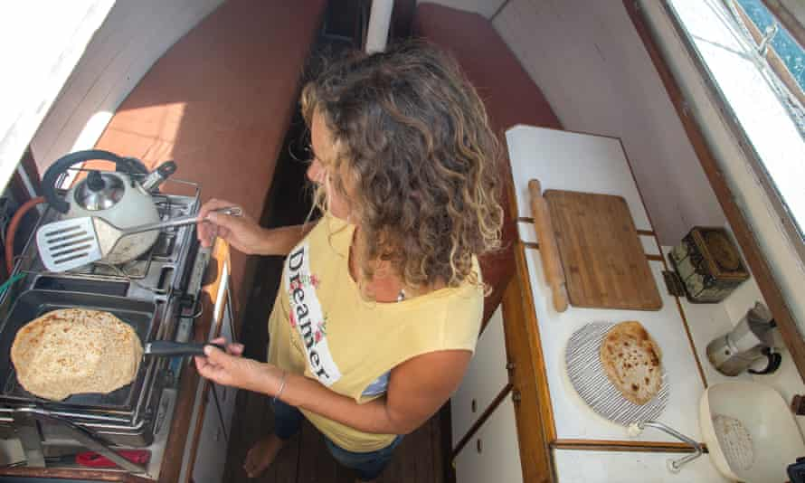 Susan Smillie on boat cooking