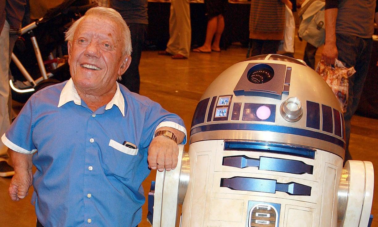 Morreu o R2-D2...  R.I.P. Kenny Baker 2083