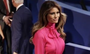 Melania Trump: 'I don't know that person would talk that way. And that he would say that kind of stuff in private.'