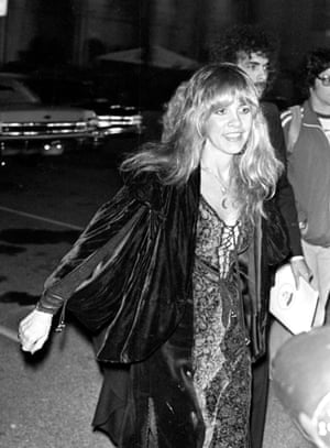 Nicks at the Grammy awards in February 1978.