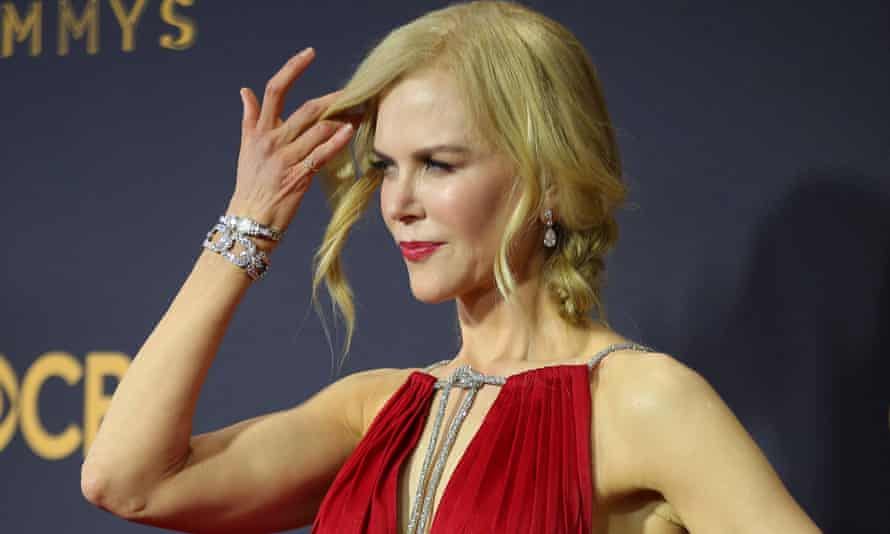 Nicole Kidman at the Emmys in 2017.