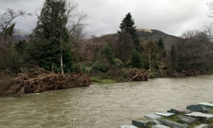 River Greta in Keswick, Cumbria.