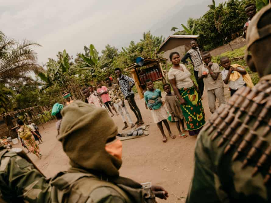 FARDC troops in the city of Nobili