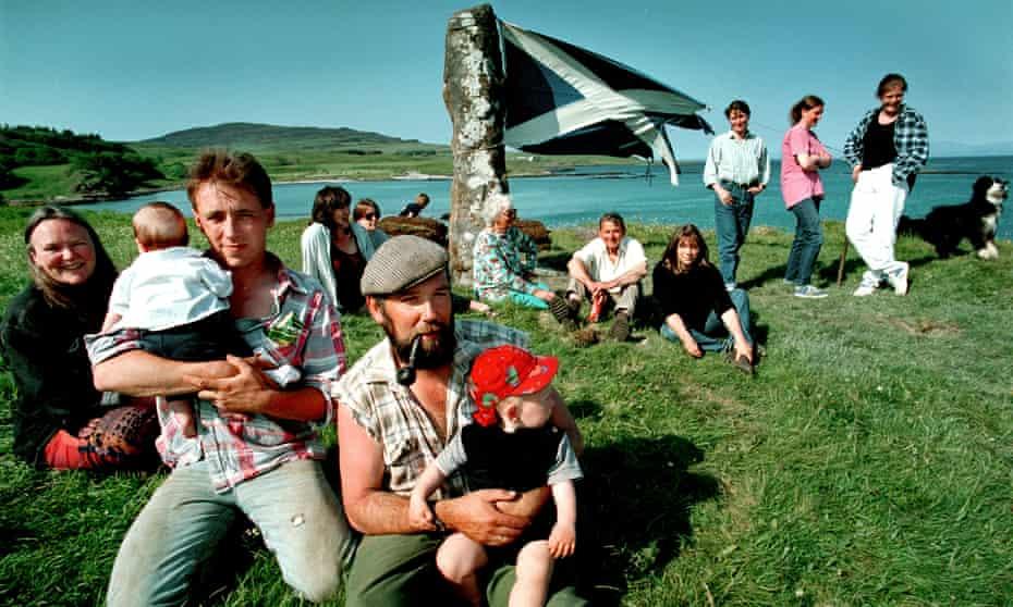 Eigg islanders celebrate purchase of their island