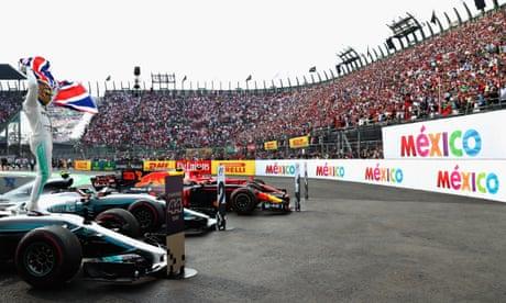 Lewis Hamilton wins fourth F1 title at Mexico Grand Prix