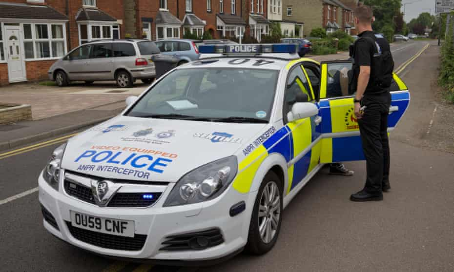 A police car with ANPR equipment - police could face backlash over the way the system works.