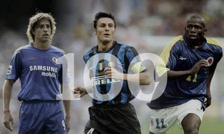 Hernan Crespo, Javier Zanetti and Faustino Asprilla led our panel of 124 judges from 45 countries. Composite: Jim Powell