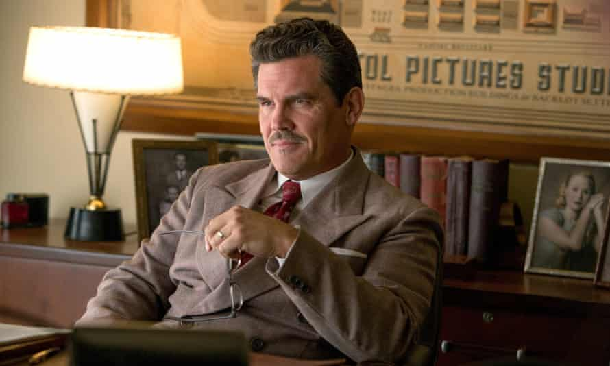 Josh Brolin as Hollywood studio chief Eddie Mannix in Hail Caesar!