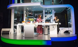 'Growing exponentially with each performance': Noma Dumezweni and Karla Crome in Linda at the Royal Court theatre in London.