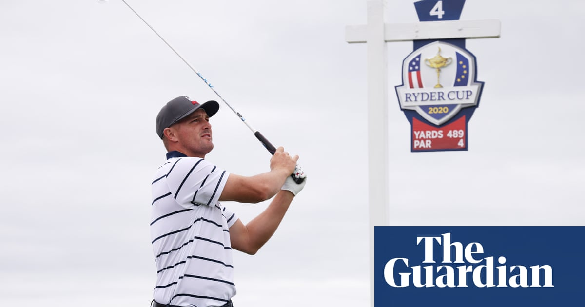 Bryson DeChambeau: 'If I make 18 holes in one, people will still say something'