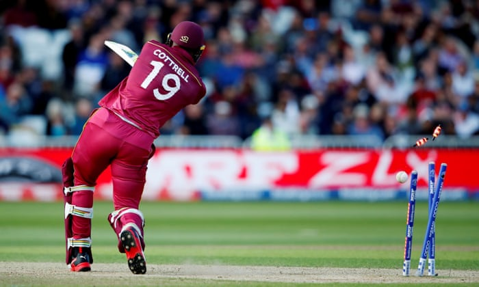 Australia beat West Indies by 15 runs at Cricket World Cup