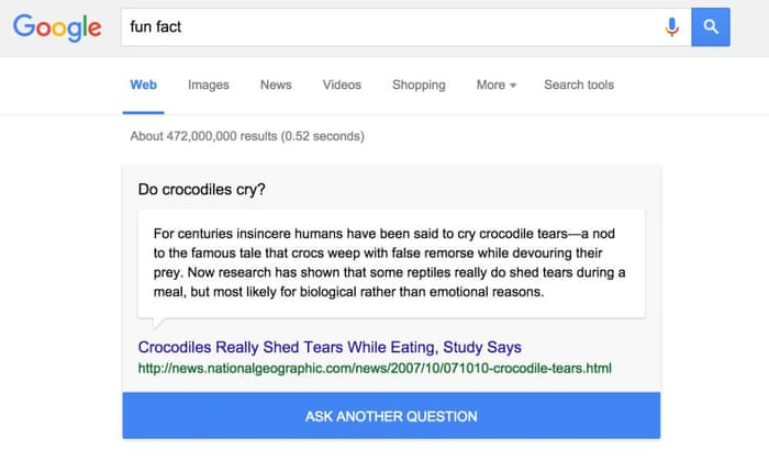 Google Launches 'I'm Feeling Curious,' A fun feature to pass your time