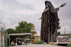 The International Temple of Santa Muerte, Estado de Mexico, which has the largest Santa Muerte statue in the world.