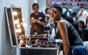 Model Norha Ngandu Kazadi says: 'Fashion for me is a way in which I can express everything – joy, sadness, shock, pain. It is my passion above everything else'