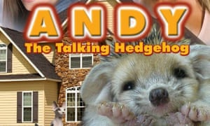 Having a ball... Andy the Talking Hedgehog