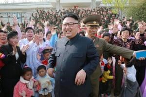 Jangjae Islet, North Korea Leader Kim Jong Un