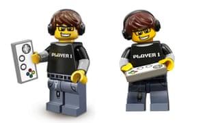Lego Video Game Guy minifigure