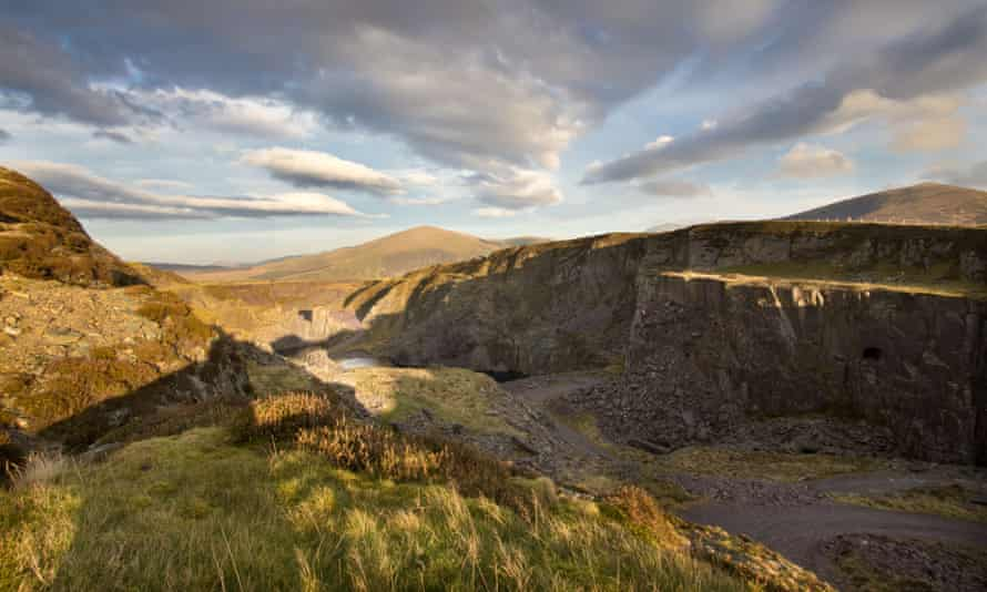 slate quarry in Gwynedd