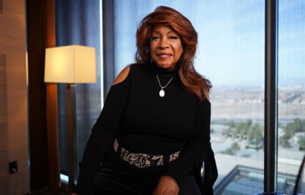 Mary Wilson of the Supremes, one of the artists featured in the wonderful Soul America.