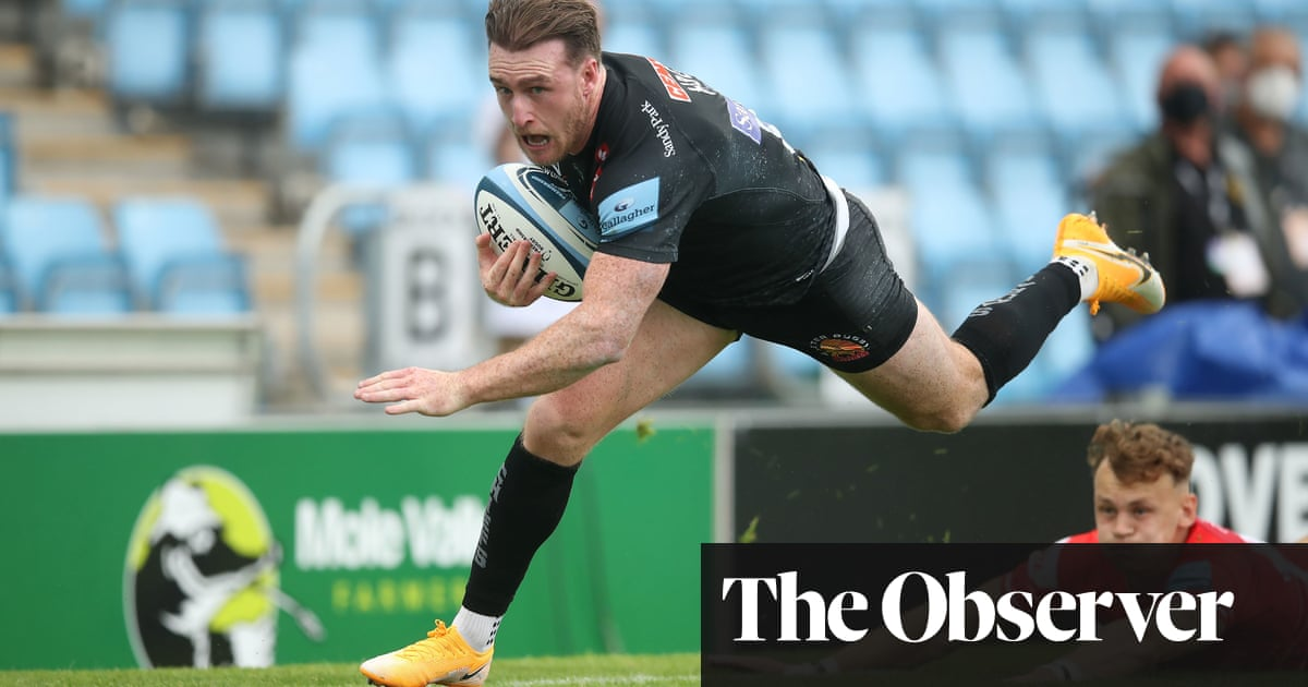 Stuart Hogg's try highlight of Exeter's comfortable win over Leicester