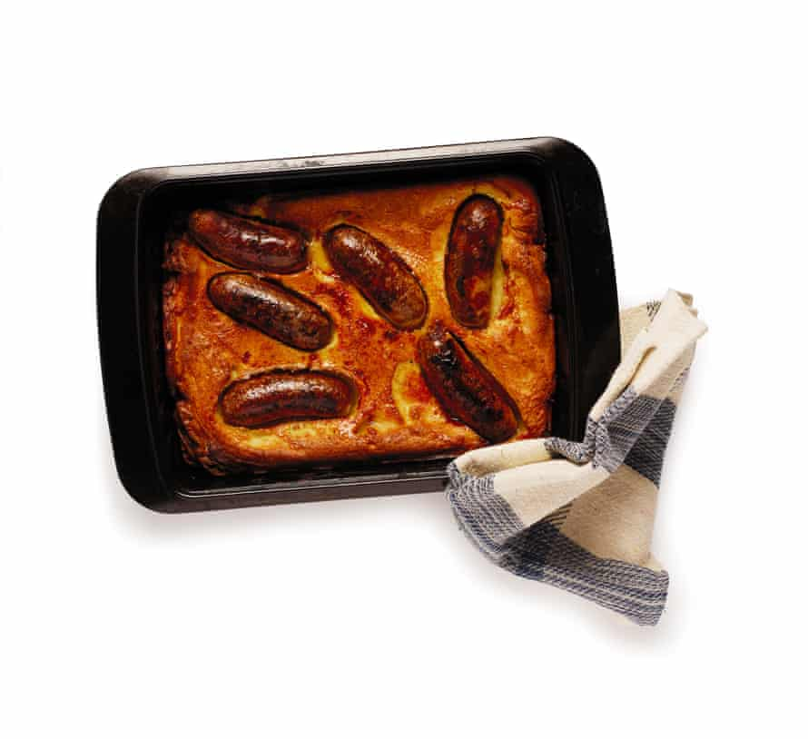 A baked toad in the hole