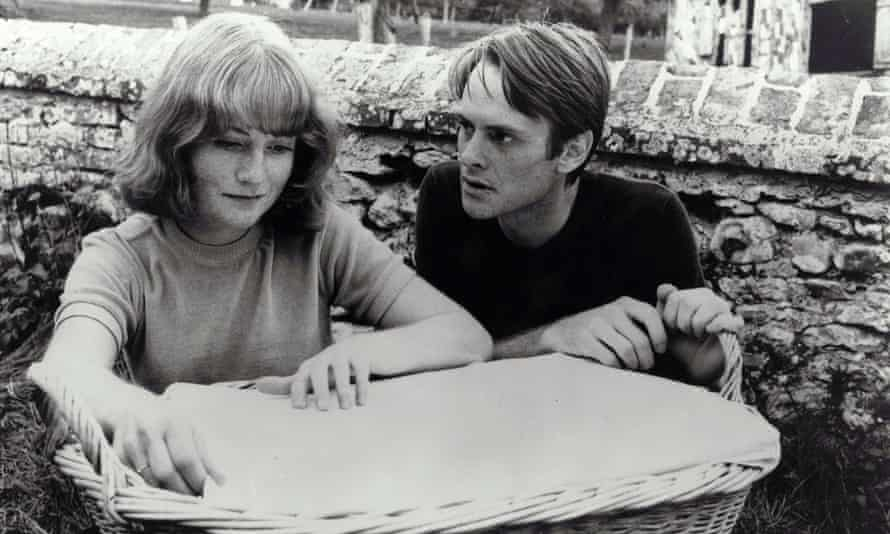 Isabelle Huppert and Yves Beneyton in The Lacemaker, 1977, directed by Claude Goretta.