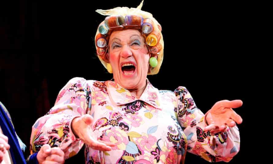 Nothing like a dame … McKellen as Widow Twankey,