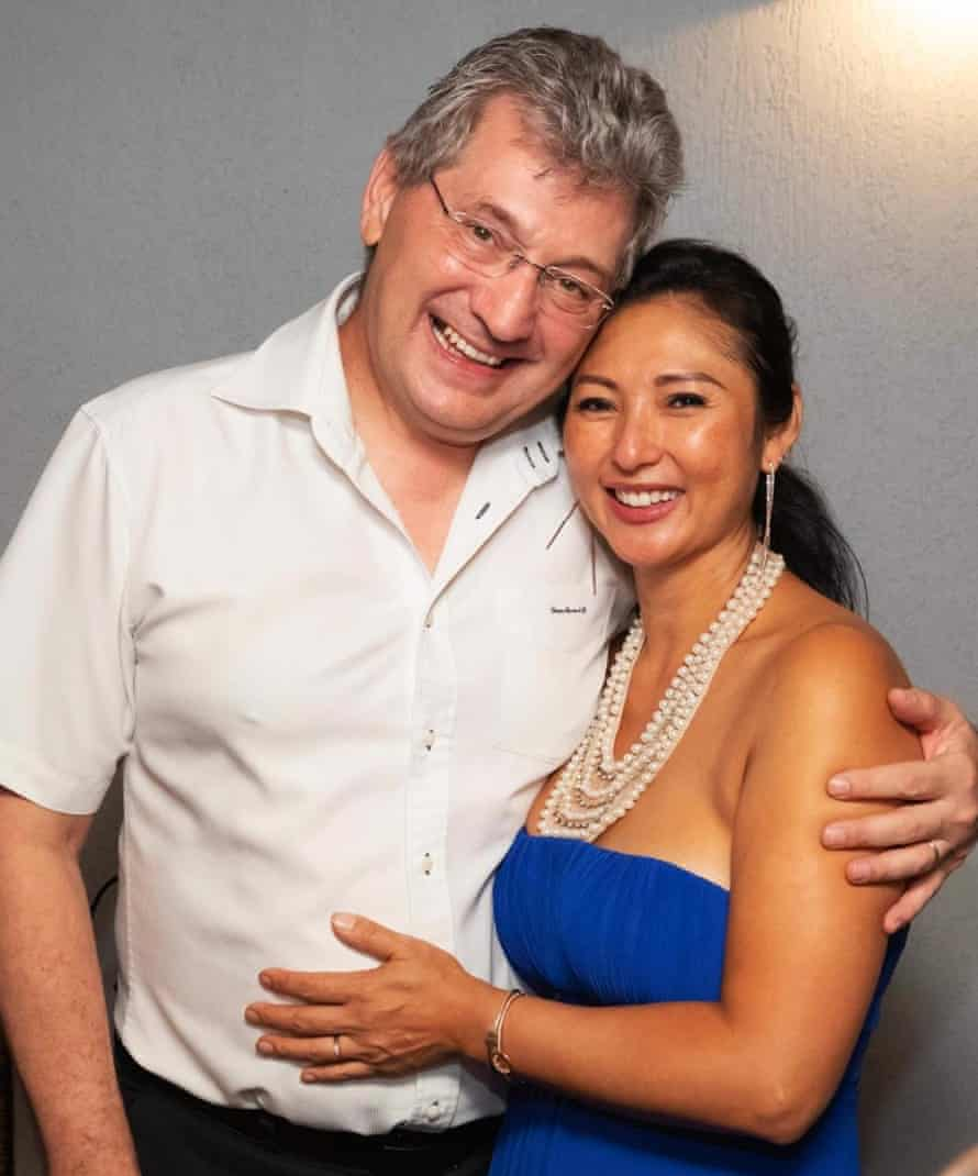 Stephanie and David Boyd, owners of Thai Rock restaurant in Wetherill Park