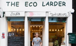 Matthew Foulds of the Eco Larder