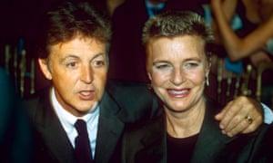 Paul and Linda McCartney, 1997.