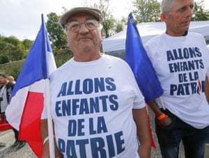 Two Front National supporters