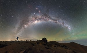 The skies above ESO's Paranal Observatory