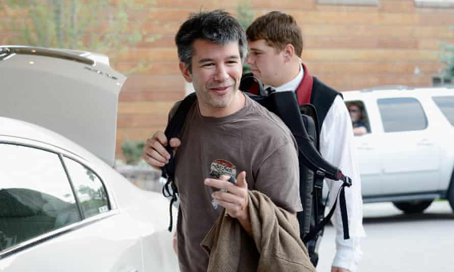 Travis Kalanick told staff on Tuesday that he will take a leave of absence, without saying when he'd return.
