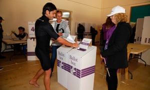 Exit polls in Australian election predict tight contest with